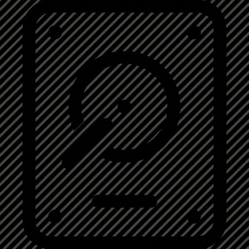 Data, disk, drive, file, hard, storage icon - Download on Iconfinder