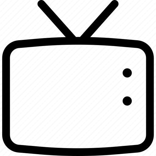 device, monitor, technology, television, tv icon