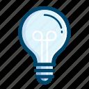 bulb, light, idea, lamp, creative