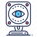 camera, cctv, eye, security