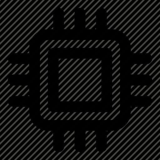 chip, computer, microchip, microprocessor, processor icon