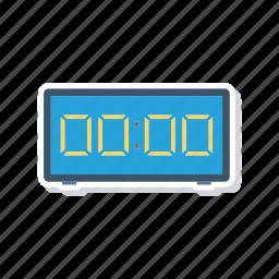 countdown, digital, stopwatch, timer icon