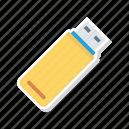 drive, flash, hardware, usb icon