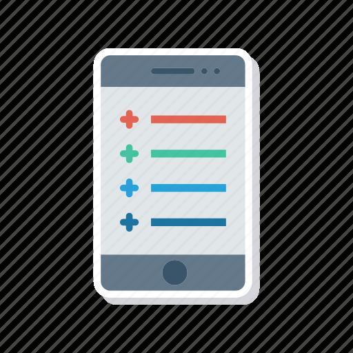 gadget, mobile, phone, responsive icon