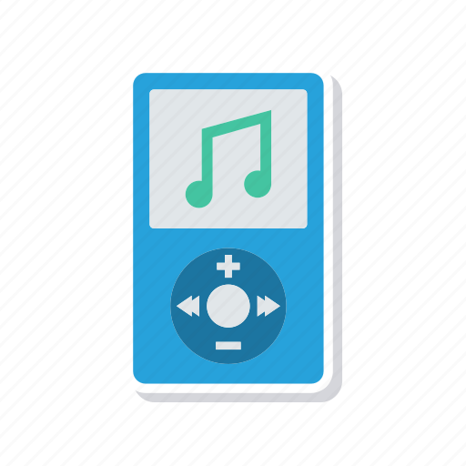 audio, device, mp3, music icon