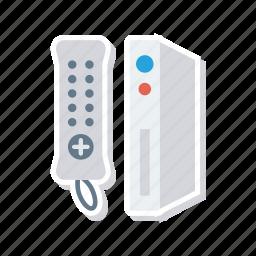 control, hardware, remote, wireless icon