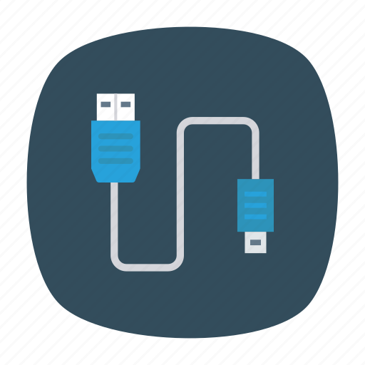 cable, data, electronic, wire icon