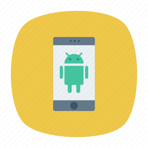 android, device, mobile, phone icon