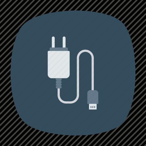 cable, connector, plug, wire icon