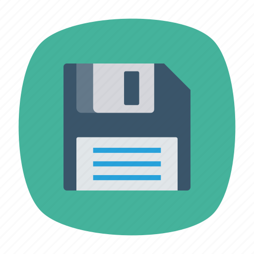 chip, disk, floppy, save icon
