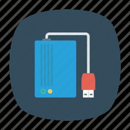 device, drive, hard, storage icon