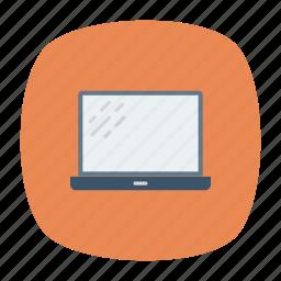 device, gadget, laptop, screen icon