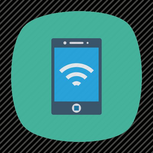 hotspot, mobile, signal, wifi icon