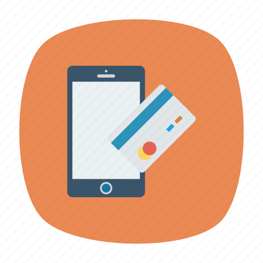 buy, mobile, pay, phone icon