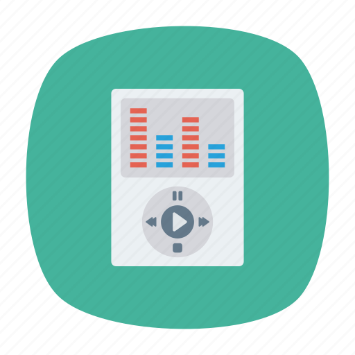 audio, device, music, song icon