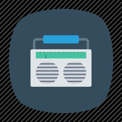 audio, music, songs, tape icon
