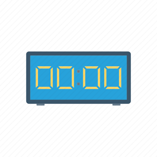 countdown, digital, stopwatch, timer icon