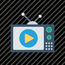 monitor, screen, tv, video icon