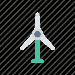energy, power, turbine, windmill icon