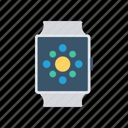 clock, time, watch, wrist icon