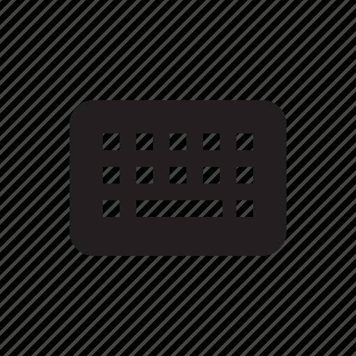communication, keyboard, media, technology icon