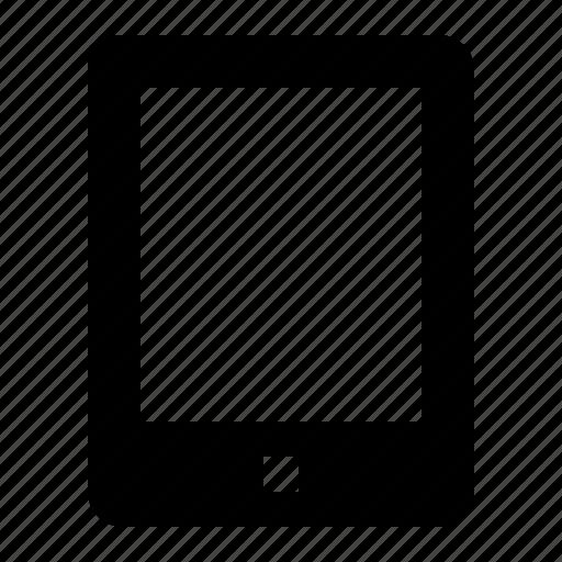 device, electronics, hardware, ipad, tablet icon