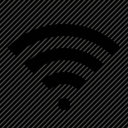 device, electronics, hardware, network, signal, wifi, wireless icon