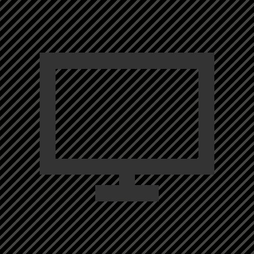 computer, desktop, display, screen icon
