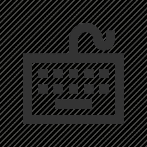 input, keyboard, language, qwerty icon