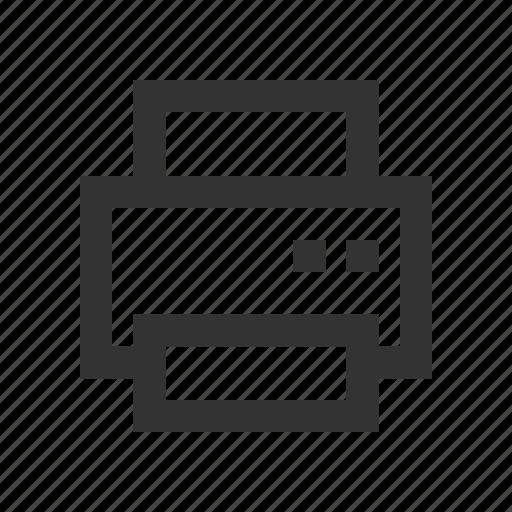 print, printer, printing, wireless icon