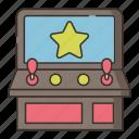 arcade, cabinet, game, gaming