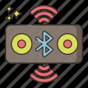 bluetooth, speaker, sound, music