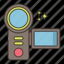 camcorder, camera, video