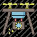 camera, drone, video