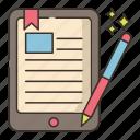 ebook, reader, book, education