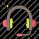 gaming, headphones, music