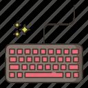 mechanical, keyboard, computer