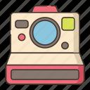 polaroid, camera, photography, photo