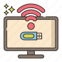 smart, tv, dongle icon
