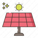 solar, panel, power, energy