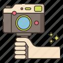 vlogging, camera, video