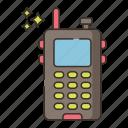 walkie, talkie, communication, talking
