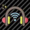 wireless, headphones, sound, music