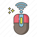 wireless, mouse, wifi, signal