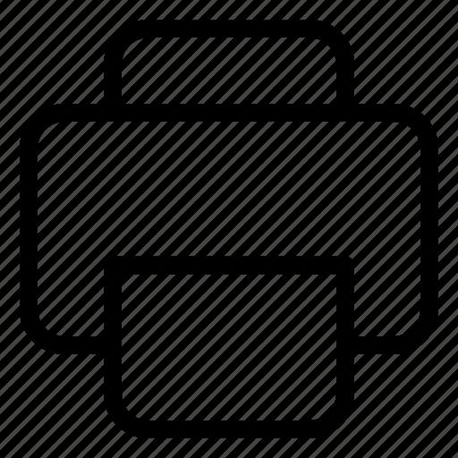 archive, document, print icon