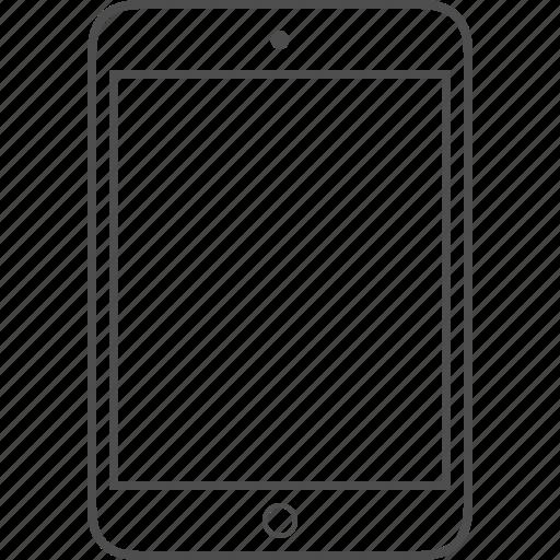 air, apple, ios, ipad, mini, tablet icon