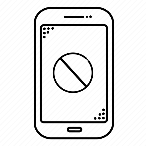 cellphone, device, devices, error, mobile, phone, smartphone icon