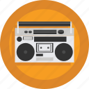 audio, boombox, device, music, music player, sound icon