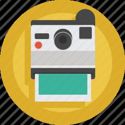 artist, camera, device, photo, photographer, picture, polaroid, print icon