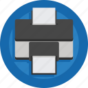 device, document, paper, print, printer icon